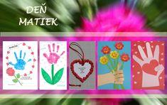 Inšpirácie na rôzne vlastnoručne vyrábané darčeky na Deň matiek.