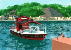 浦賀の渡し 横須賀・三浦半島の風景