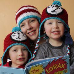 Dr. Seuss Crochet Hats