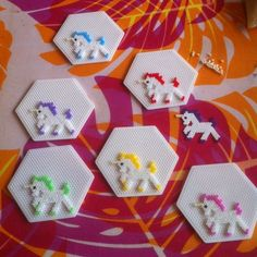 Large Hexagon Clear Perler Fuse Beads Pegboard DIY Kid Craft in Fuse Beads. Melty Bead Patterns, Pearler Bead Patterns, Perler Patterns, Beading Patterns, Loom Patterns, Embroidery Patterns, Quilt Patterns, Art Patterns, Mosaic Patterns