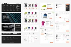 Active Store - Ecommerce UI Kit by Medialoot on Creative Market