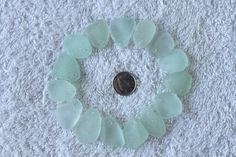 AWESOME BEACH GLASS Top Drilled Pendent by BEACHGLASSSWEPTASHOR, $21.99