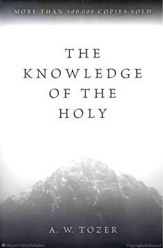 The Knowledge of the Holy / A.W. Tozer  (Excellent book covering the attributes of God)