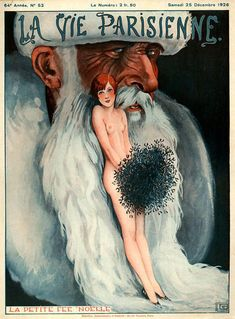La Vie Parisienne 1926 La Petite Fee Noelle - www.MadMenArt.com | La Vie…