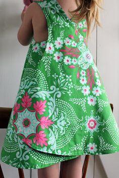 2 little hooligans: Pinafore Summer Dress