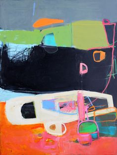 Abstract Oil Paintgs by Jenny Gray, Contemporary Oregon Artist