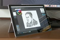 Artist Review: Surface Pro 4 as a Drawing Tablet | Parka Blogs