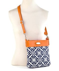 Look what I found on #zulily! Blue Sailor's Watch Hipster Crossbody Bag #zulilyfinds