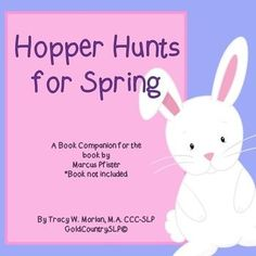 Hopper Hunts for Spring - A Language &... by GoldCountrySLP | Teachers Pay Teachers