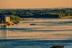 The Danube at Brăila, Romania Romania, River, Country, Outdoor, Beautiful, Outdoors, Rural Area, Country Music, Outdoor Living