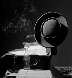 Herman Leonard: Lester Young's Hat, NYC 1948