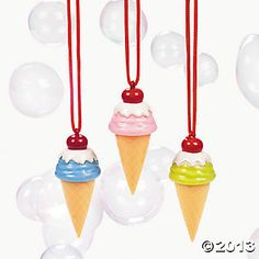 ice cream cone bubbles oriental trading $7.25/dozen