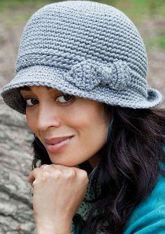 Women's cloche crochet pattern