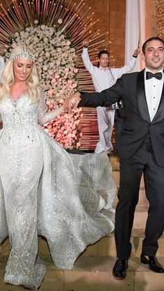 lebaneseweddings on Instagram: That 'just married' feeling! 😍🥰 ________________________ ▪︎Wedding planner and designer : @myeventdesign @majedakassirbisharat. ▪︎Wedding…