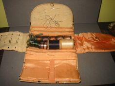 Antique sewing kit.