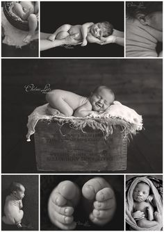 Chelsea Lietz Photography, newborn portraits, black and white newborn photos, black and white, baby photos