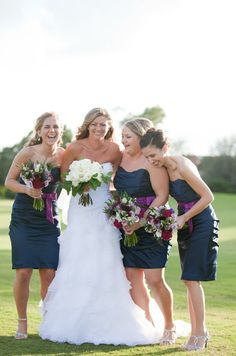 Alfred Angelo Bridesmaids Dresses- Style Me Pretty | Gallery