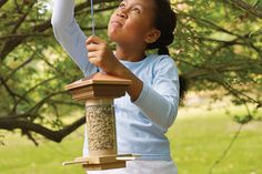 Easy bird feeder project