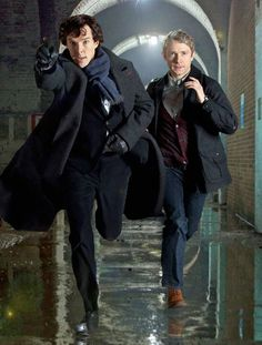 Oh Moffat and his love of witty, brilliant, running heroes.