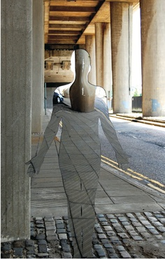mirror sculptures by Rob Mulholland