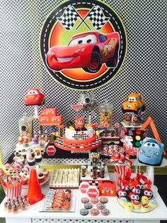 Wendy Bedoya Party Studio's Birthday / Cars / Trucks - Photo Gallery at Catch My Party Cars Trucks Birthday Party, Birthday Parties, I Party, Party Ideas, Anniversary Parties, Birthday Celebrations, Ideas Party, Happy Birthday Parties, Birthdays