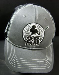 Slo-Pitch National 25 Years Velcro Back Ball Cap Collector Hat The Collector, Pitch, Baseball Hats, Cap, Store, Baseball Caps, Baseball Cap, Tent, Shop Local