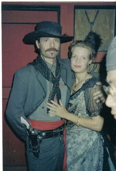 Michael Biehn aka Johnny Ringo with Dana Loraine Goodge 1993 TOMBSTONE