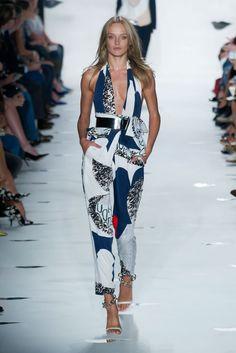 Diane von Furstenberg Spring 2013: need this jumpsuit