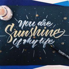 """#lettering #calligraphy #type #kuretake #typespot #typegang #typespire #thisisarcher #goodtype #strengthinletters #thedailytype #art"""