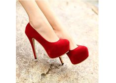 Red pumps!