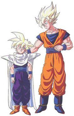 Awwh Goku and Gohan!