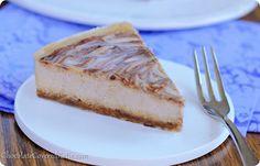 lightened up no bake cinnamon swirl cheesecake