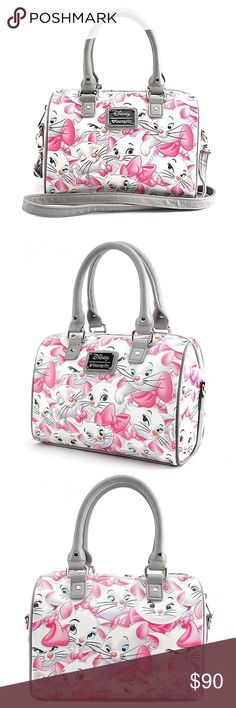 New Marie from Disney's Aristocats satchel New with tags Loungefly Disney's Aristocats satchel with removable crossbody strap. :) Disney Bags Satchels