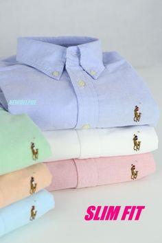 Nwt Polo Ralph Lauren Women Long Sleeve Slim Fit Oxford Button Down Sport Shirt