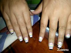 Pinturas en uñas