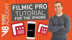 Learn how to film professional videos with your iPhone with the amazing Filmic Pro app. In this Filmic Pro Tutorial, I walk you through how to set up and use. Video Film, Videography, App, Education, Iphone, Learning, Youtube, Electronics, Photography