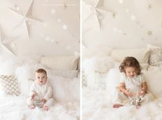 """Bright and White Holiday Mini Session""""  - Baby Photographer in Houston - Estela Giargei Photography"""