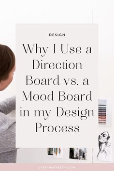 Why I Use a Direction Board vs. a Mood Board in my Design Process | Artful Branding & Graphic Design for Entrepreneurs by queenikathleeni