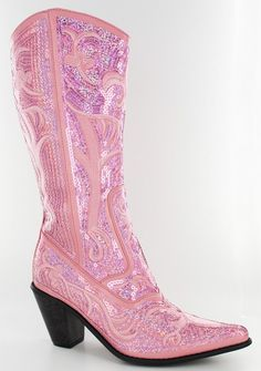Helens Heart Turquoise Bling Sequin Cowboy Boots! | Fashion Shoes ...