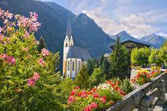 St. Vinzenz Church, Heiligenblut, Austria, By EsrAli