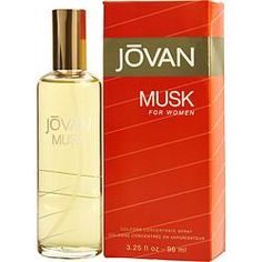 JOVAN MUSK by Jovan - COLOGNE CONCENTRATED SPRAY 3.25 OZ