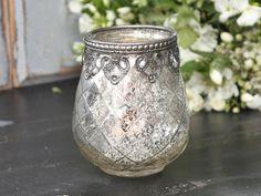 Chic Antique* Vase aus Bauernsilber, H 11cm