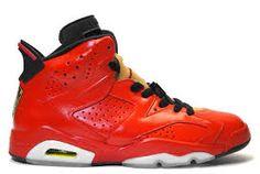 premium selection d3818 b3a6f Cheap Air Jordan 6 (VI) Red-Black Porsche 911 Basketball Shoes Store Air