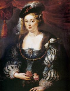 Peter Paul Rubens - Helena Fourment (2nd wife of artist)