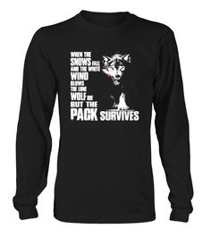 The lone wolf dies but the pack survives 71 T Shirt