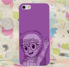 Dr. Slump Arale Rock On Hand Sign Anime Design iPhone 4 5 6 7 Plus Case  #Dr.Slump #Arale #RockOnHandSign #Anime #Design #iPhone7Plus Case
