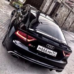 #audi #quattro #bossbabe #a7 #rs7 #black #beast #car #cars