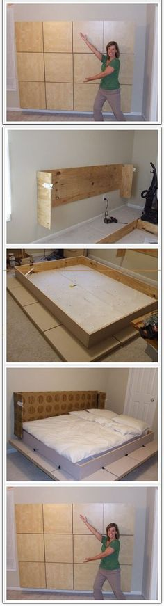 Build A Murphy Bed in Your Apartment | DIY & Crafts