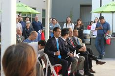Julian Castro and others at Tobin Lofts Grand Opening at San Antonio College