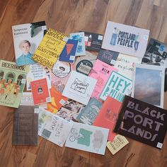 """Seriously impressed with the #Zines from last night's @travelportland event. I think I'll start with """"A Sleepwalker's Guide to Portland"""" & """"A Feminist's Guide to Beer Drinking"""" (""""Don't tell ME I won't like that IPA!""""). #pdx #portlandia #portland #travel #instatravel #discoveramerica #usa #instaart"""